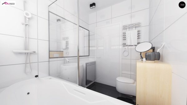 Фото 9 - Z151 - Функциональный компактный дом интересного дизайна.