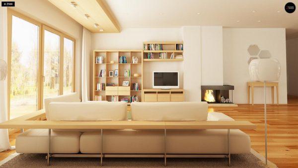 Фото 6 - Z158 - Комфортный элегантный дом с тремя спальнями и выступающим фронтальным гаражом.