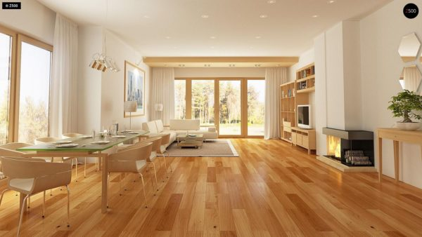Фото 7 - Z158 - Комфортный элегантный дом с тремя спальнями и выступающим фронтальным гаражом.