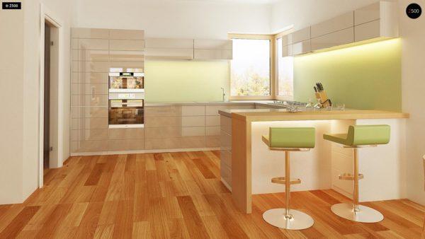 Фото 8 - Z158 - Комфортный элегантный дом с тремя спальнями и выступающим фронтальным гаражом.