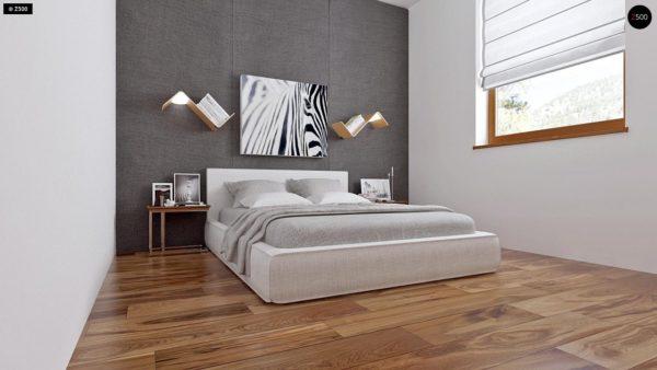 Фото 7 - Z16 dk - Аккуратный одноэтажный дом с деревянной облицовкой фасадов, адаптированный для каркасной технологии.