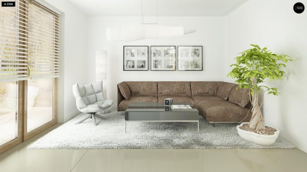 Фото 5 - Z163 - Небольшой стильный и практичный дом с мансардными окнами.