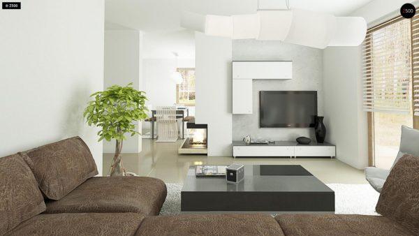 Фото 6 - Z163 - Небольшой стильный и практичный дом с мансардными окнами.