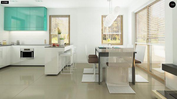 Фото 7 - Z163 - Небольшой стильный и практичный дом с мансардными окнами.