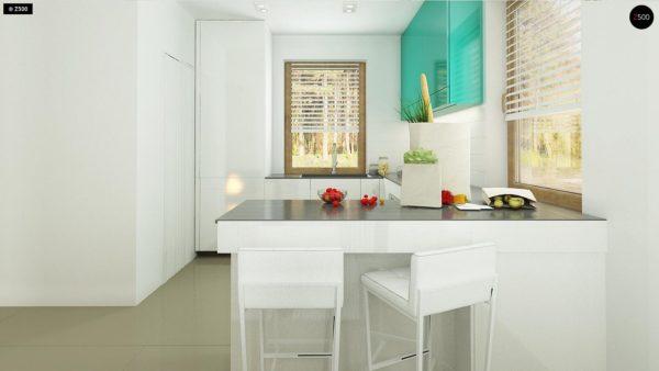 Фото 8 - Z163 - Небольшой стильный и практичный дом с мансардными окнами.
