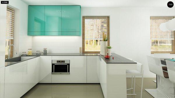 Фото 9 - Z163 - Небольшой стильный и практичный дом с мансардными окнами.