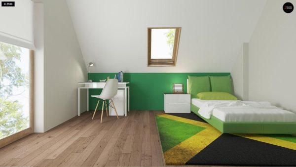 Фото 10 - Z163 - Небольшой стильный и практичный дом с мансардными окнами.