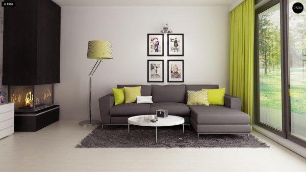 Фото 5 - Z174 - Компактный и удобный дом традиционной формы, подходящий, также, для узкого участка.