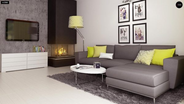 Фото 6 - Z174 - Компактный и удобный дом традиционной формы, подходящий, также, для узкого участка.