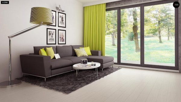 Фото 7 - Z174 - Компактный и удобный дом традиционной формы, подходящий, также, для узкого участка.