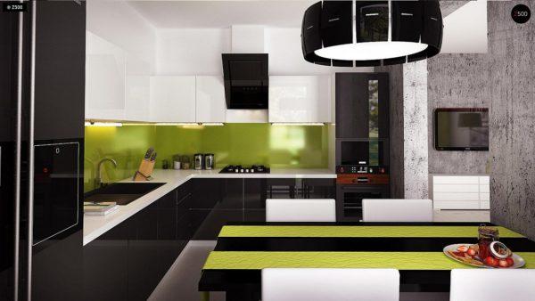 Фото 9 - Z174 - Компактный и удобный дом традиционной формы, подходящий, также, для узкого участка.