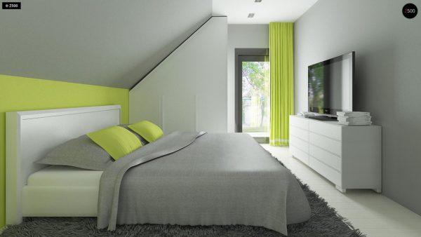 Фото 10 - Z174 - Компактный и удобный дом традиционной формы, подходящий, также, для узкого участка.