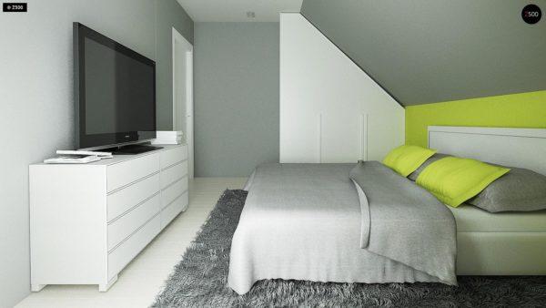 Фото 11 - Z174 - Компактный и удобный дом традиционной формы, подходящий, также, для узкого участка.