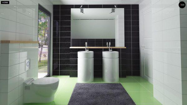 Фото 12 - Z174 - Компактный и удобный дом традиционной формы, подходящий, также, для узкого участка.