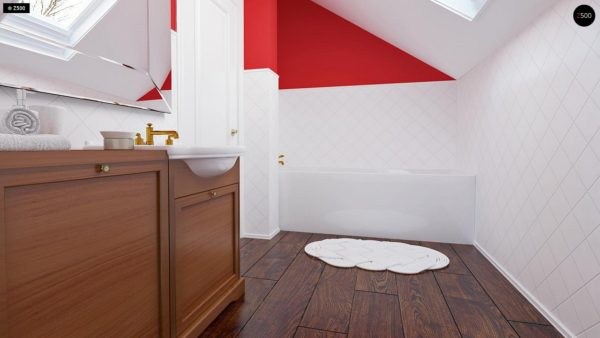 Фото 12 - Z177 - Аккуратный, практичный дом, также для узкого участка.