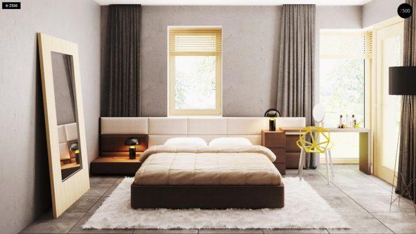 Фото 23 - Z200 k - Вариант проекта Z200 с кирпичной облицовкой фасадов.