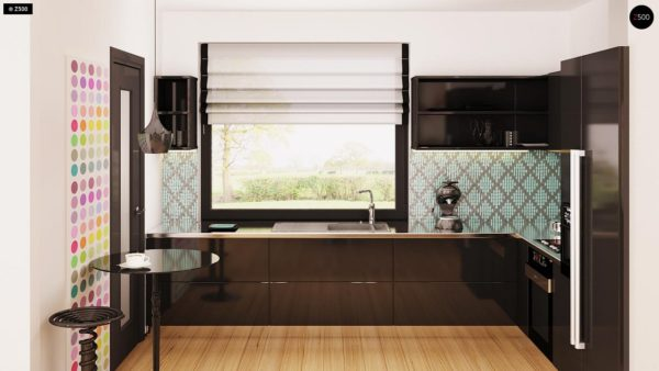 Фото 7 - Z209 - Практичный одноэтажный дом с гаражом для двух автомобилей и большим хозяйственным помещением.