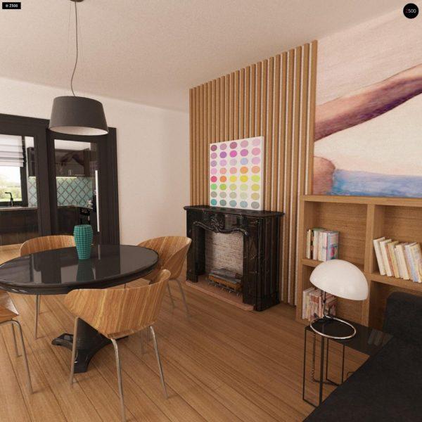 Фото 8 - Z209 - Практичный одноэтажный дом с гаражом для двух автомобилей и большим хозяйственным помещением.