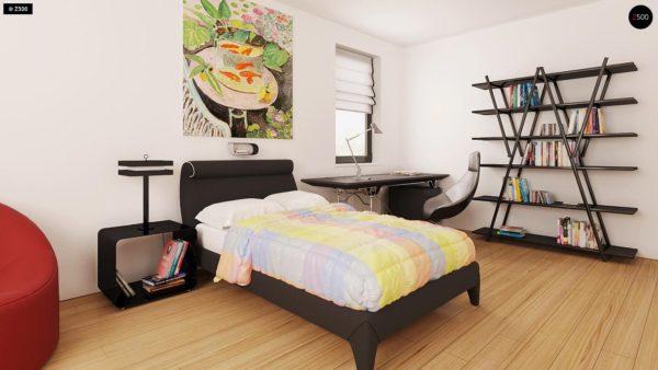 Фото 10 - Z209 - Практичный одноэтажный дом с гаражом для двух автомобилей и большим хозяйственным помещением.