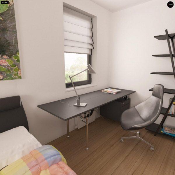Фото 11 - Z209 - Практичный одноэтажный дом с гаражом для двух автомобилей и большим хозяйственным помещением.
