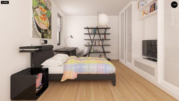 Фото 9 - Z209 - Практичный одноэтажный дом с гаражом для двух автомобилей и большим хозяйственным помещением.