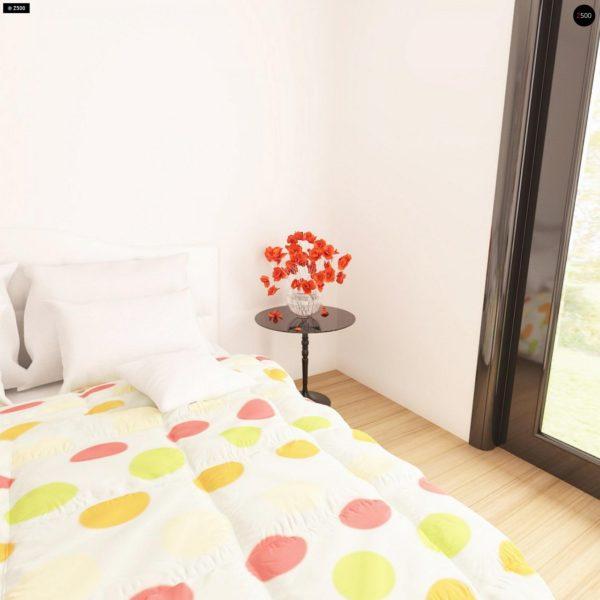 Фото 13 - Z209 - Практичный одноэтажный дом с гаражом для двух автомобилей и большим хозяйственным помещением.