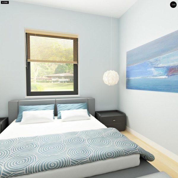 Фото 13 - Z24 - Практичный одноэтажный дом с 4-х скатной кровлей и угловым окном в кухне.