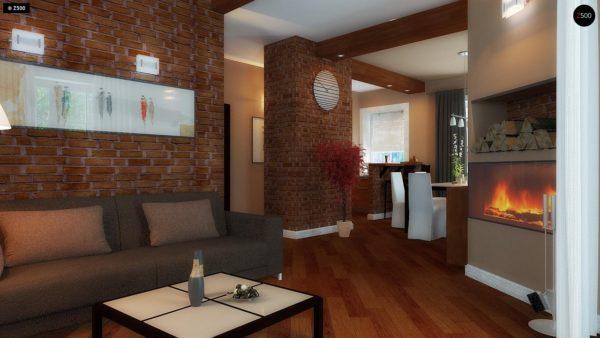 Фото 4 - Z3 - Компактный дом с мансардой с камином на террасе.
