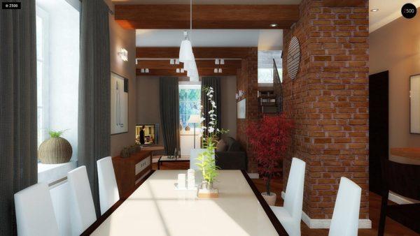 Фото 5 - Z3 - Компактный дом с мансардой с камином на террасе.