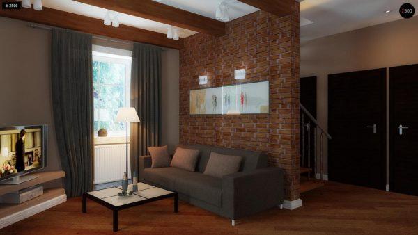 Фото 3 - Z3 - Компактный дом с мансардой с камином на террасе.