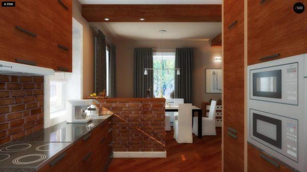 Фото 9 - Z3 - Компактный дом с мансардой с камином на террасе.