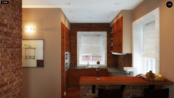 Фото 10 - Z3 - Компактный дом с мансардой с камином на террасе.