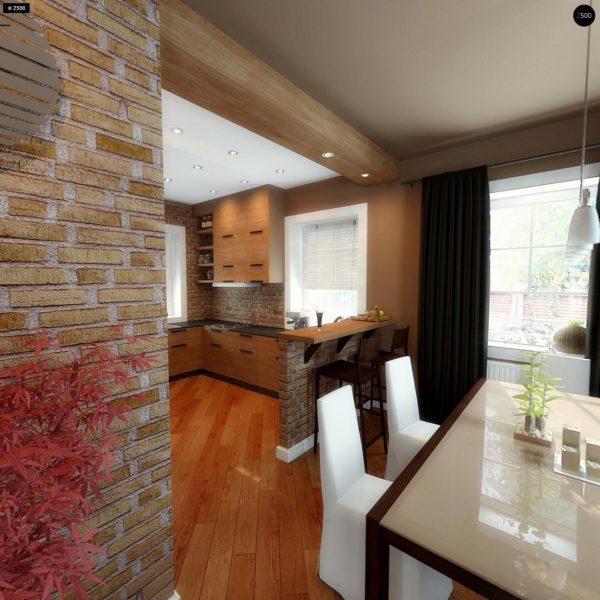 Фото 11 - Z3 - Компактный дом с мансардой с камином на террасе.