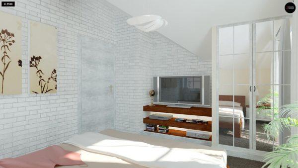 Фото 14 - Z3 - Компактный дом с мансардой с камином на террасе.