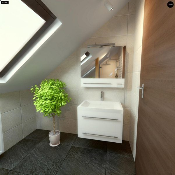 Фото 21 - Z3 - Компактный дом с мансардой с камином на террасе.