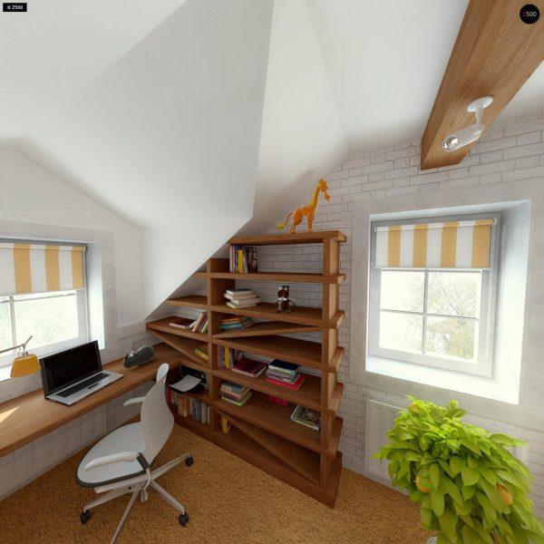 Фото 25 - Z3 - Компактный дом с мансардой с камином на террасе.