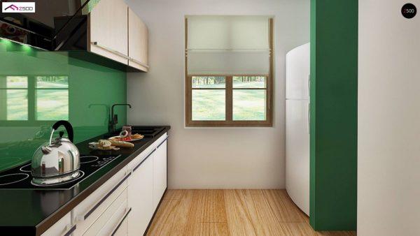 Фото 4 - Z30 - Компактный дом с мансардой, с крытой террасой и внешним камином.