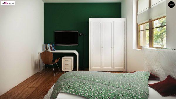 Фото 5 - Z30 - Компактный дом с мансардой, с крытой террасой и внешним камином.