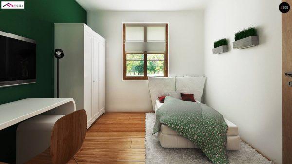 Фото 6 - Z30 - Компактный дом с мансардой, с крытой террасой и внешним камином.