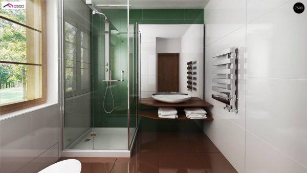 Фото 10 - Z30 - Компактный дом с мансардой, с крытой террасой и внешним камином.