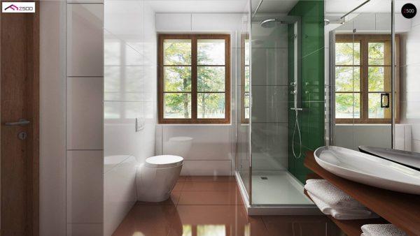 Фото 11 - Z30 - Компактный дом с мансардой, с крытой террасой и внешним камином.