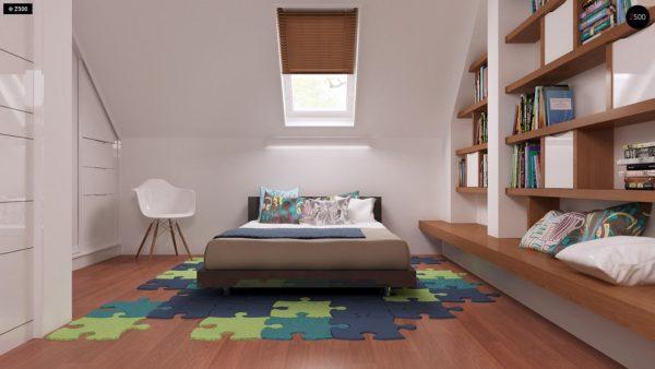Фото 19 - Z32 - Компактный традиционный дом простой формы с двускатной крышей.