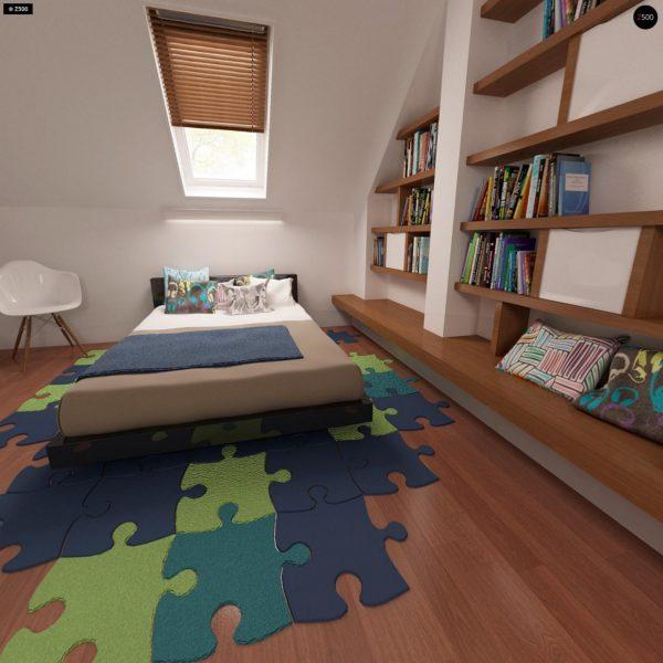 Фото 20 - Z32 - Компактный традиционный дом простой формы с двускатной крышей.