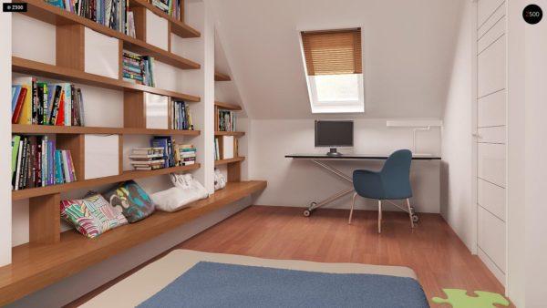 Фото 18 - Z32 - Компактный традиционный дом простой формы с двускатной крышей.