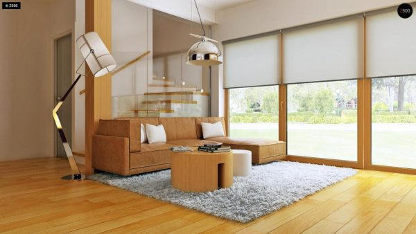 Фото 4 - Z34 - Практичный дом для небольшого участка, простой в строительстве, дешевый в эксплуатации.