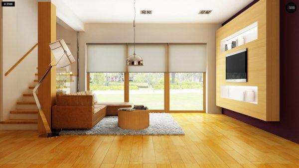 Фото 5 - Z34 - Практичный дом для небольшого участка, простой в строительстве, дешевый в эксплуатации.