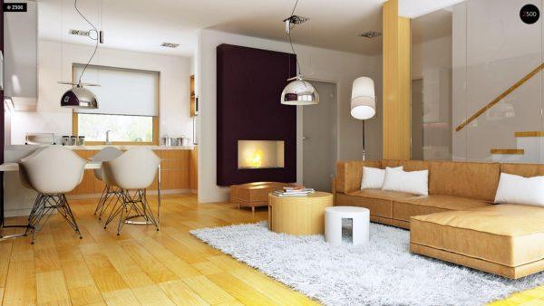 Фото 6 - Z34 - Практичный дом для небольшого участка, простой в строительстве, дешевый в эксплуатации.