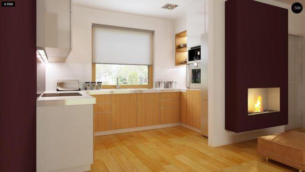 Фото 7 - Z34 - Практичный дом для небольшого участка, простой в строительстве, дешевый в эксплуатации.