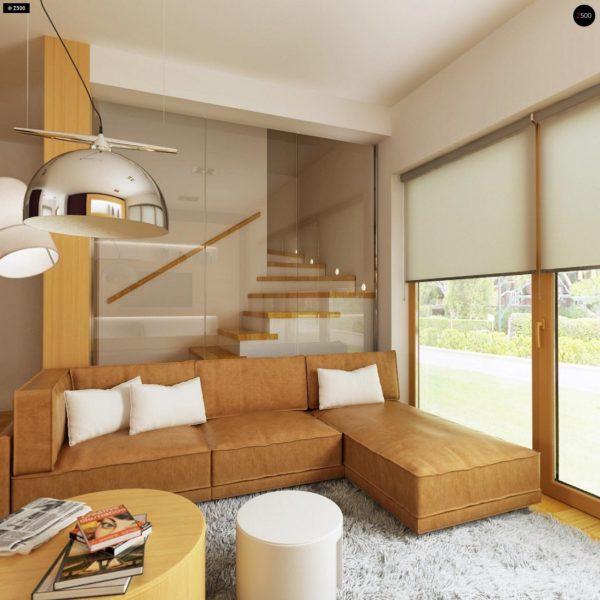 Фото 8 - Z34 - Практичный дом для небольшого участка, простой в строительстве, дешевый в эксплуатации.