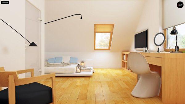 Фото 10 - Z34 - Практичный дом для небольшого участка, простой в строительстве, дешевый в эксплуатации.